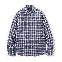 68&BROTHERS / L/S Summer B.D Shirts Indigo Plaid [No. 6056]