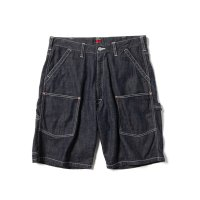 "68&BROTHERS / Denim Painter Shorts ""O.W"" [No. 6349]"