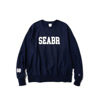 """68&BROTHERS /  Heavy Weight Crew Sweat """"SEABR"""" [No. 6406]"""